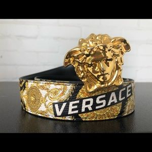 Authentic Reversible Versace Belt